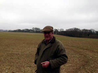 Michael Maxwell who manages a 2000 acre estate near Basingstoke